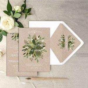 Top 7 xu hướng thiệp cưới hứa hẹn gây bão vào năm 2018