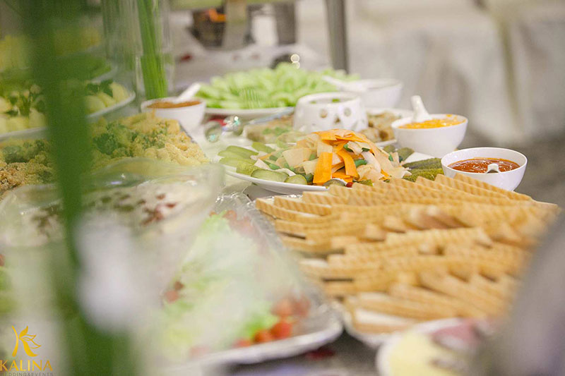 ăn buffet chay ở đâu thoải mái