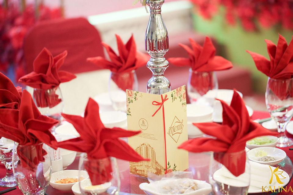 Để có một đám cưới nhỏ gọn và ấm cúng
