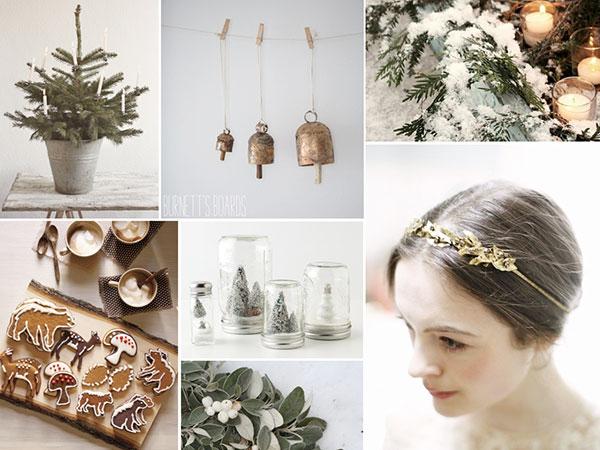 Đưa không khí giáng sinh vào tiệc cưới của bạn, tại sao không?
