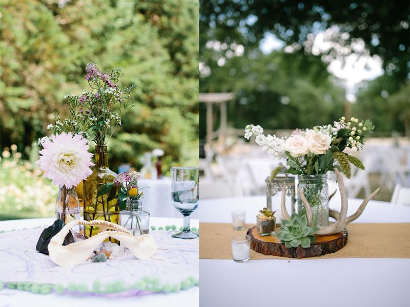 hoa cưới để bàn đẹp 2017