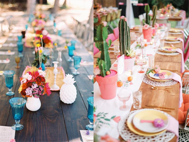 hoa cưới để bàn đẹp kalina