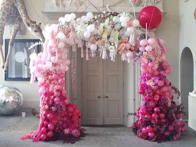 Ngắm những mẫu cổng hoa cưới tuyệt đẹp cho mùa cưới 2017