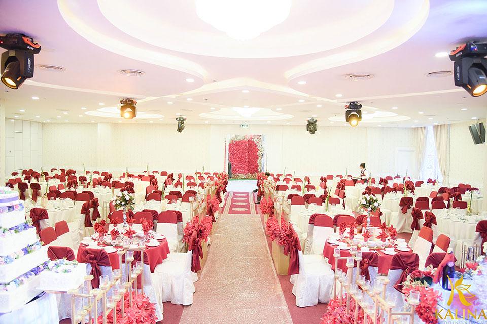 tiệc cưới theo chủ đề tại kalina