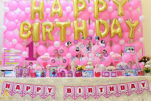 tổ chức sinh nhật cho bé tại kalina