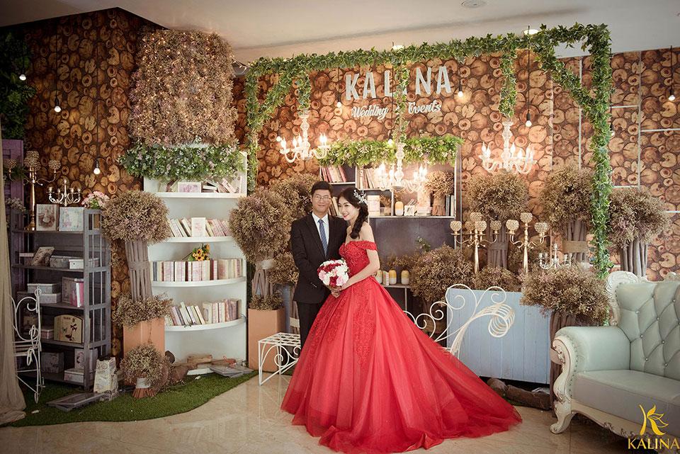 trang trí backdrop tiệc cưới đẹp