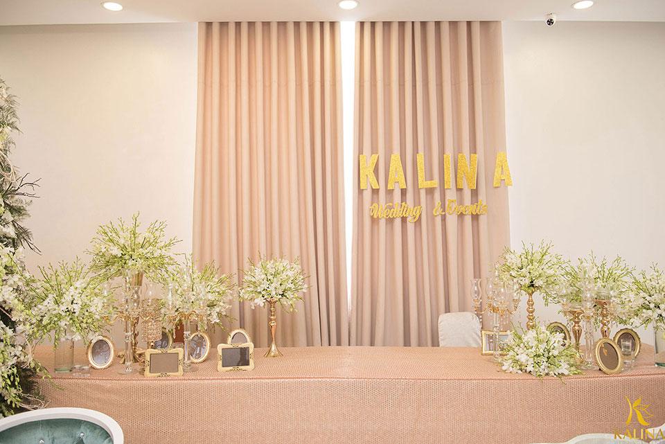 trang trí bàn tiệc cưới đẹp