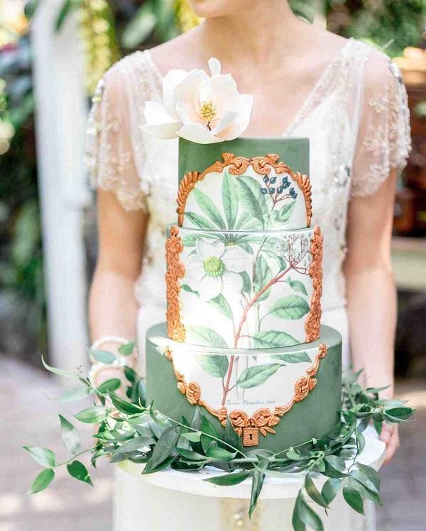 5 Loại bánh cưới ngon mắt 2018