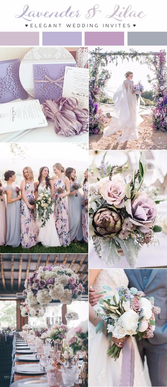 8 ý tưởng cho xu hướng màu sắc tiệc cưới 2018